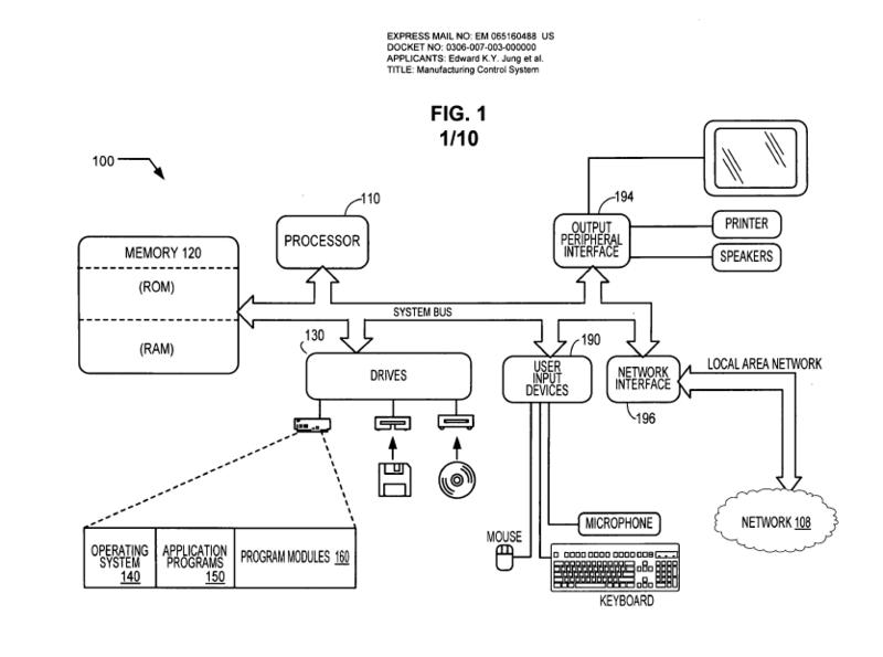 Патент, позволяющий запрещать 3d принтерам копировать нелегальный контент