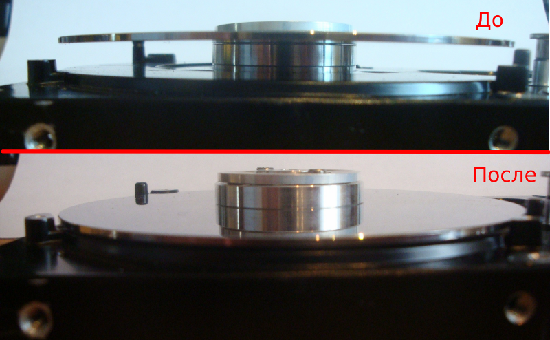 Паяльная подставка из жесткого диска