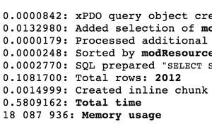 pdoTools — набор быстрых сниппетов и библиотека