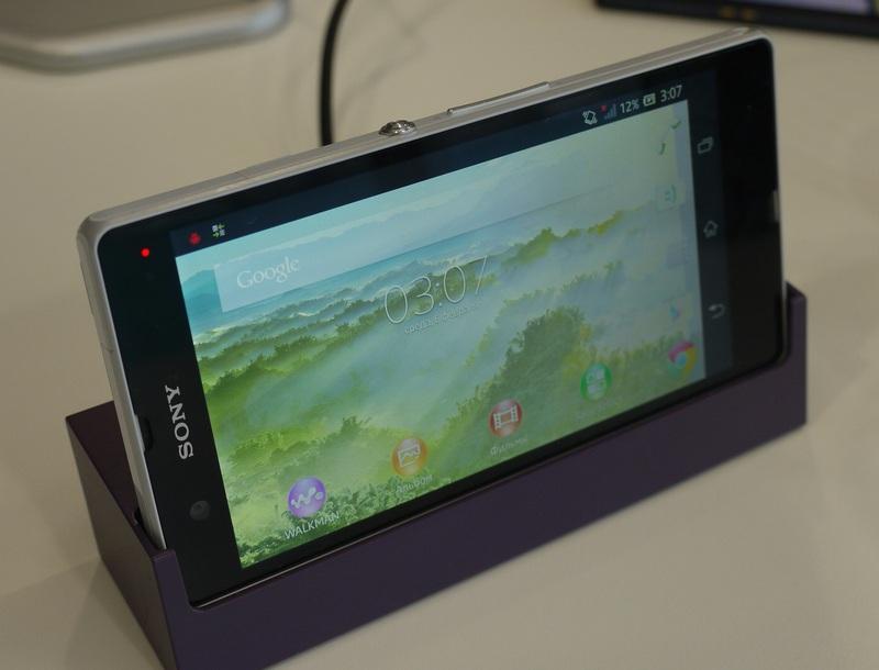 Первые впечатления от Sony Xperia Z и ZL