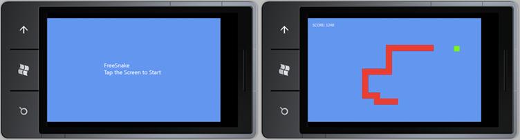 Пишем «Змейку» для Windows Phone 7