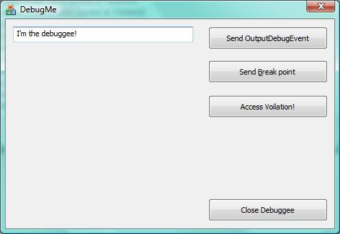 Пишем свой отладчик под Windows [часть 1]