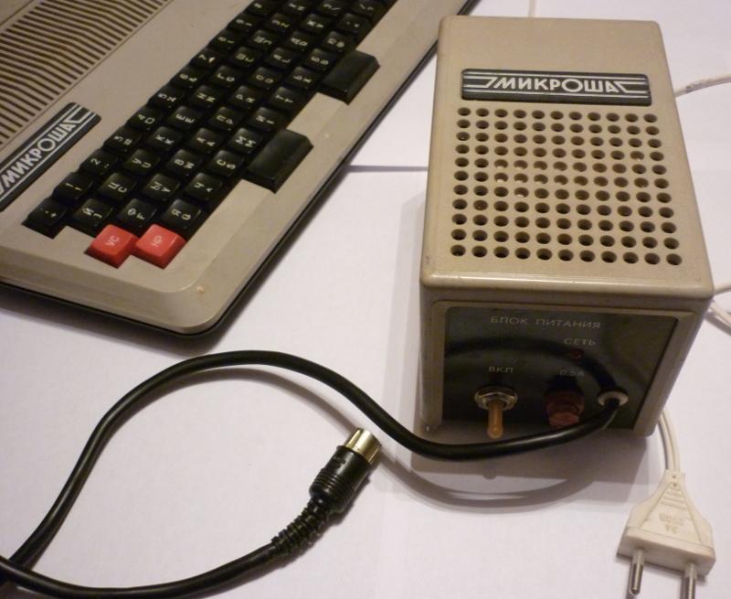 ПК «Микроша» — один из клонов «Радио 86РК»
