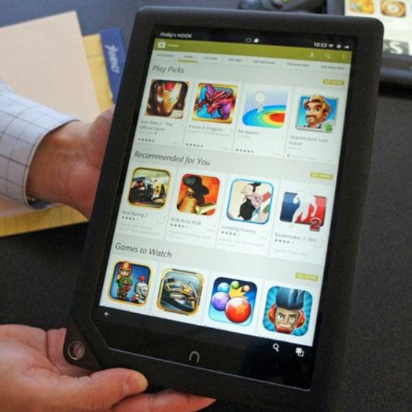 Обновление Nook HD и Nook HD+, открывающее доступ к Google Play, можно установить автоматически или вручную