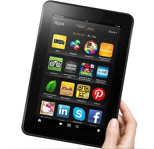 Поставки планшетов Kindle Fire HD и Kindle Fire HD 8,9 начнутся 13 июня