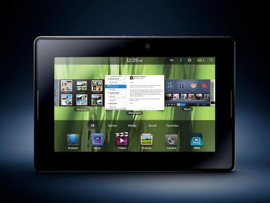 Выпуск нового планшета BlackBerry маловероятен