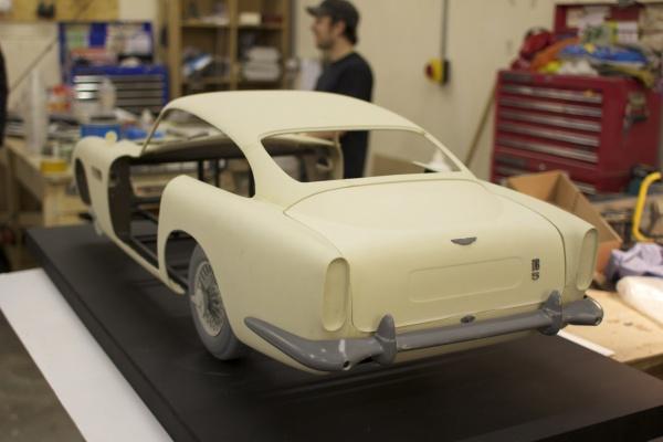 Пластиковые Aston Martin напечатанные на 3D принтере снимались в Skyfall