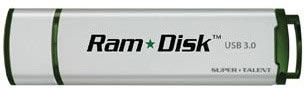 Накопитель Super Talent Ram Disk USB оснащен интерфейсом USB 3.0
