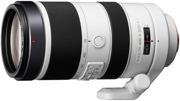 По скорости фокусировки полнокадровый объектив Sony 70-400mm F4-5.6 G SSM II вчетверо превосходит своего предшественника