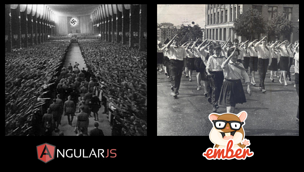 Angular vs Ember marketing and promotion