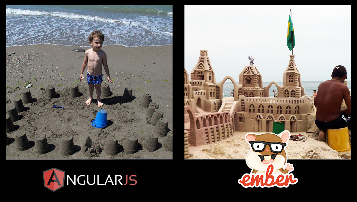 Angular vs Ember real-life built products