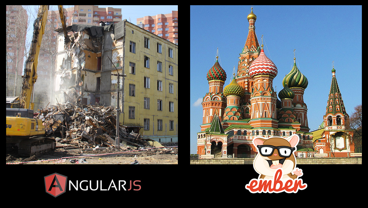 Angular vs Ember support