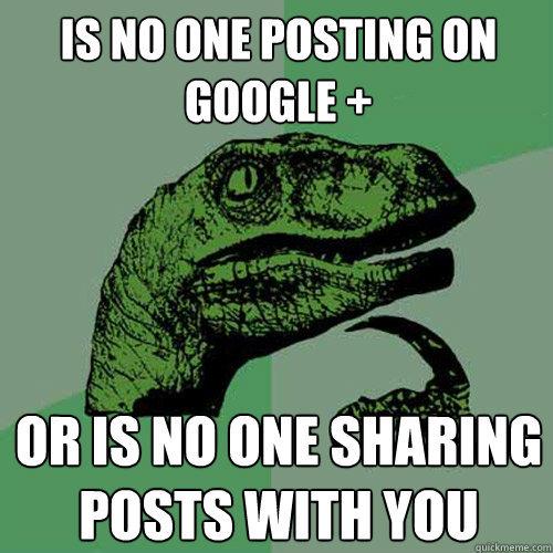 Почему же не взлетел Google+