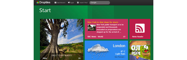 Подборка инструментов для создания веб интерфейсов в стиле Metro