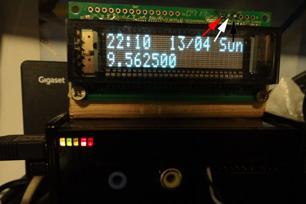 Подключение VFD дисплея Futaba GP1183A01B к Raspberry Pi