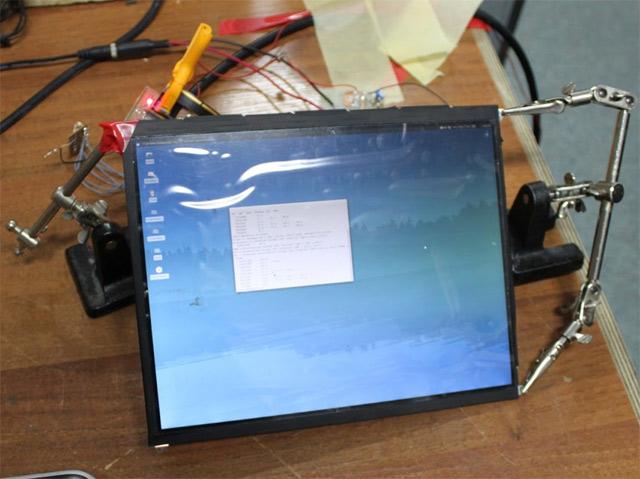 Подключение ЖК панели от iPad к персональному компьютеру