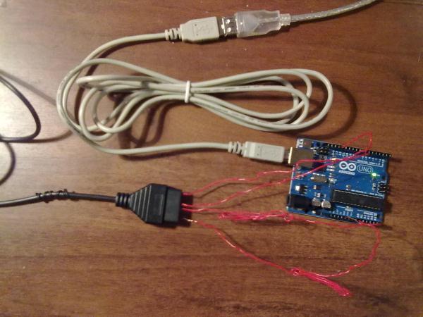 Подключение светового пистолета через Arduino