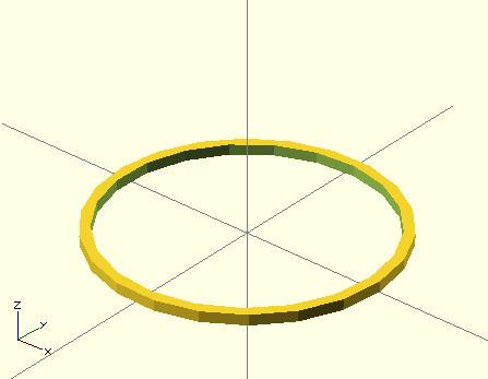 Подвешиваем CD диск, или практический пример моделирования на базе OpenSCAD для 3д печати