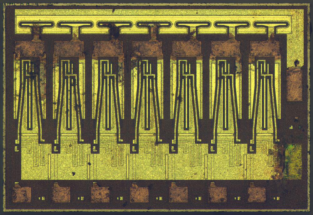 Поэлементный разбор внутренностей простейшей микросхемы — ULN2003