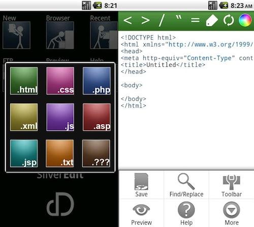 Полезные Android приложения для веб дизайнеров и разработчиков