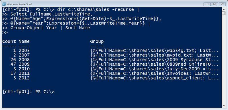 Получаем отчеты по сетевым папкам с помощью PowerShell