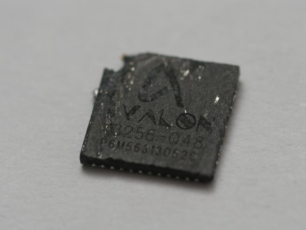 Получены фотографии кристалла специализированного Bitcoin процессора Avalon