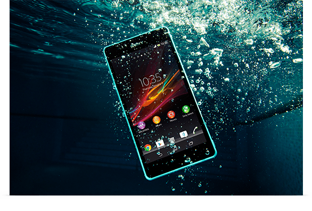 Пополнение у Sony: водонепроницаемый Xperia ZR