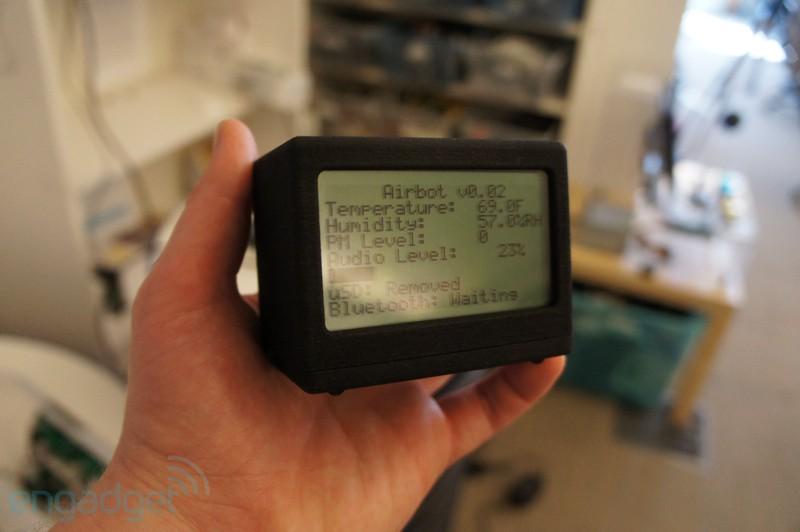Портативные гаджеты для проверки уровня загрязнения воды и воздуха от CREATE Lab