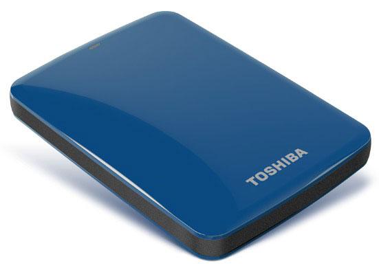 Объем портативных накопителей Toshiba Canvio Connect достигает 2 ТБ