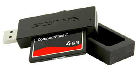 Продажи Scythe CF-Reader (SCCFR-1000) уже начались по цене 16,70 евро