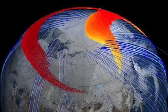 Последствия падения «челябинского метеорита»: видео модель от NASA