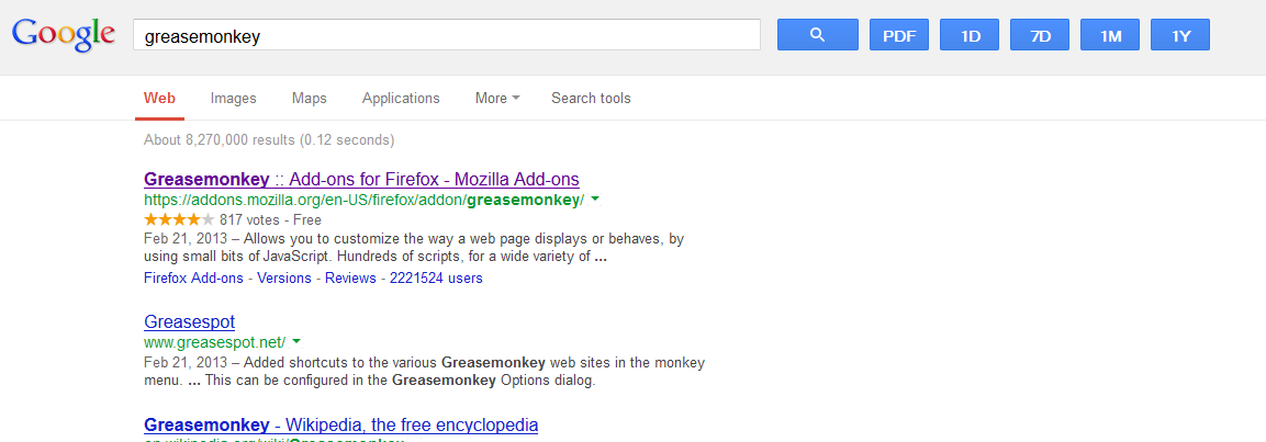 Поворачиваем Google Search к нам лицом