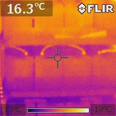 Повышаем надежность дата центра, тепловизор – сила! (фото внутри)