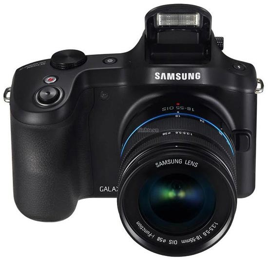 Камера Samsung Galaxy NX с ОС Android оснащена сенсорным экраном размером 4,3 дюйма по диагонали
