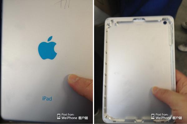 Появились первые изображения нового планшета Apple iPad mini