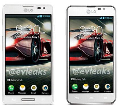 Технические данные LG Optimus F7 и Optimus F5 пока отсутствуют