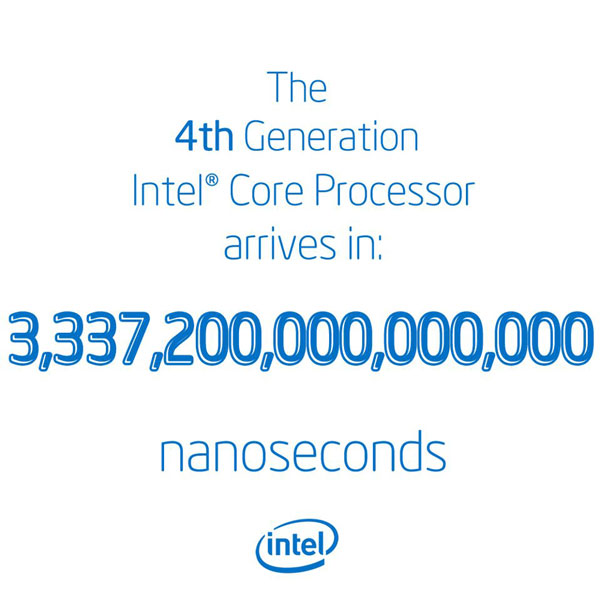 Премьера процессоров Intel Core четвертого поколения предварит выставку Computex