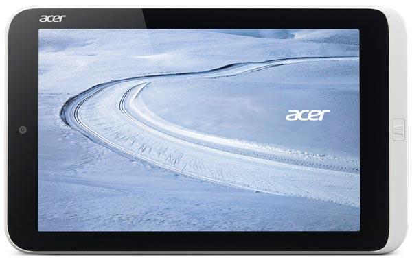 Рекомендованная цена Acer Iconia W3 с 32 ГБ флэш-памяти — 14990 рублей