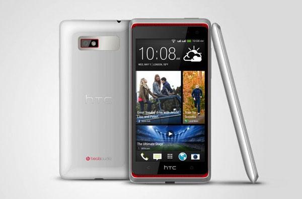 Смартфон HTC Desire 600 оснащен экраном размером 4,5 дюйма