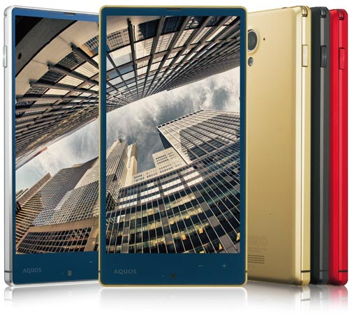 Смартфон Sharp Aquos Xx 304SH рассчитан на работу в сетях 3G и 4G LTE