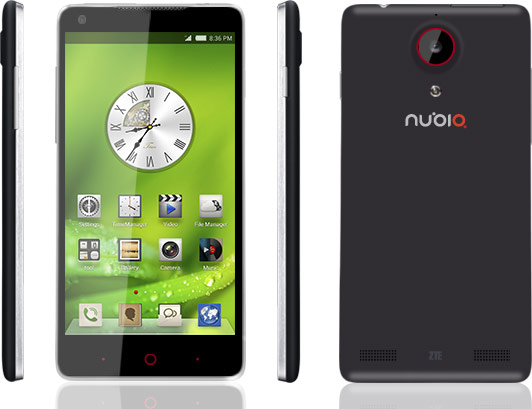 Прием заказов на смартфоны ZTE nubia 5 стартует 5 октября