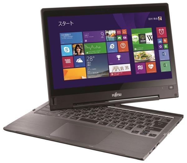 Представлен трансформируемый ультрабук Fujitsu LifeBook TH90/P
