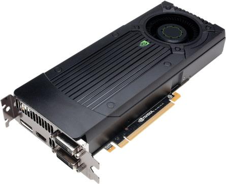 В конфигурацию GeForce GTX 760 входит 1152 ядра CUDA