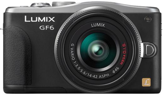 Беззеркальная камера Panasonic Lumix DMC-GF6 поддерживает Wi-Fi и NFC