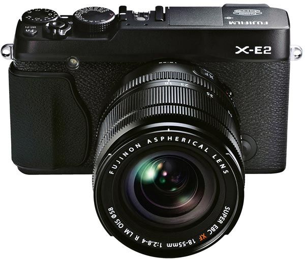 Представлена беззеркальная камера со сменным объективом Fujifilm X-E2