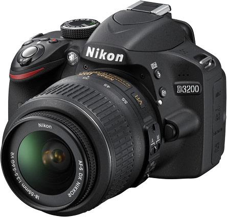 Представлена цифровая зеркальная фотокамера Nikon D3200, разрешение которой равно 24,2 Мп