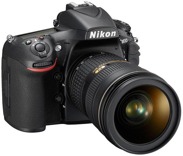 Nikon D810 — первая цифровая зеркальная камера Nikon с минимальной светочувствительностью ISO 64