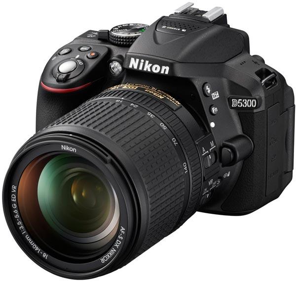 В камере Nikon D5300 используется датчик изображения типа CMOS формата APC-S (23,5 x 15,6 мм) разрешением 24,2 Мп