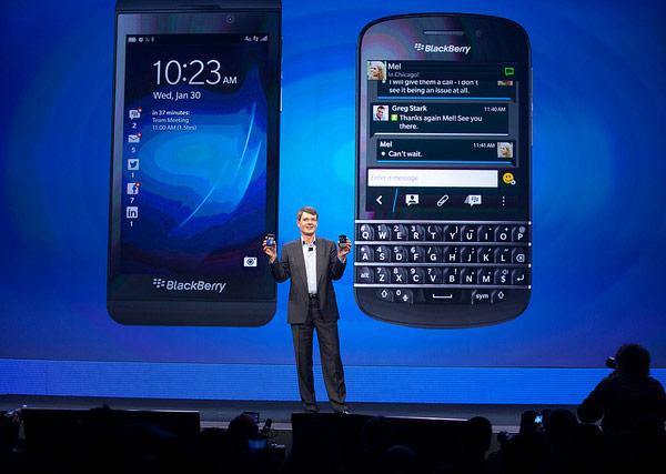 Представлены первые смартфоны на платформе BlackBerry 10