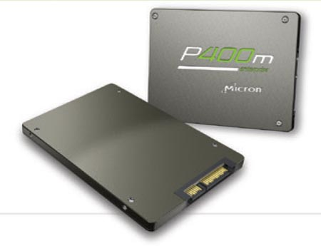 Представлены твердотельные накопители Micron P400m для серверов и хранилищ данных